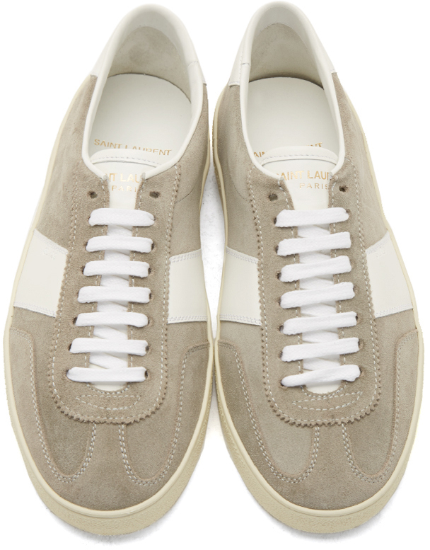 Saint Laurent Suede Court Classic SL/06 Sneakers