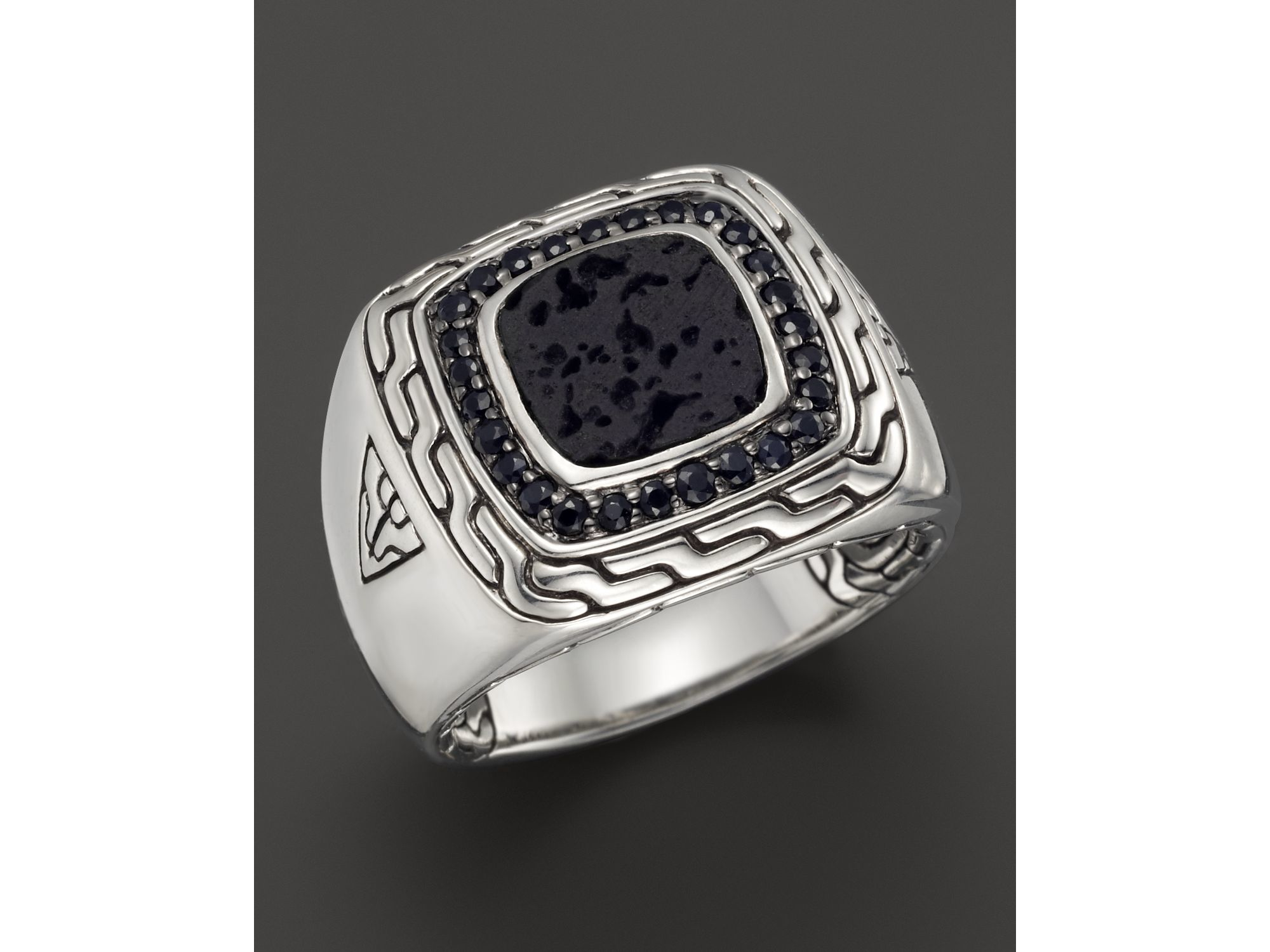1ab12f10e68cf John Hardy Men S Silver Rings - Foto Ring and Wallpaper