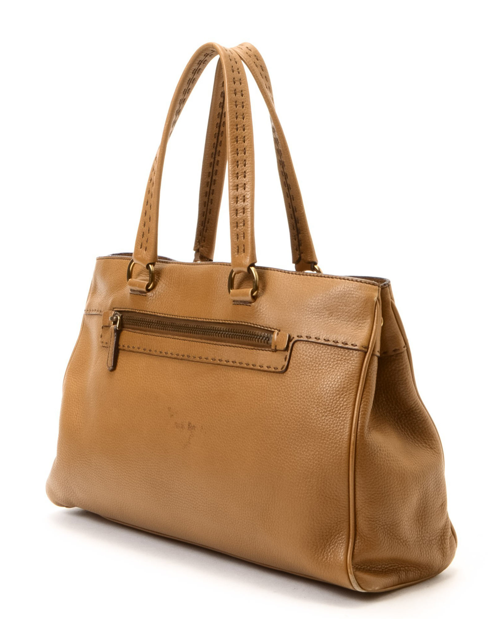 prada briefcase for women - Prada Tote - Vintage in Beige | Lyst