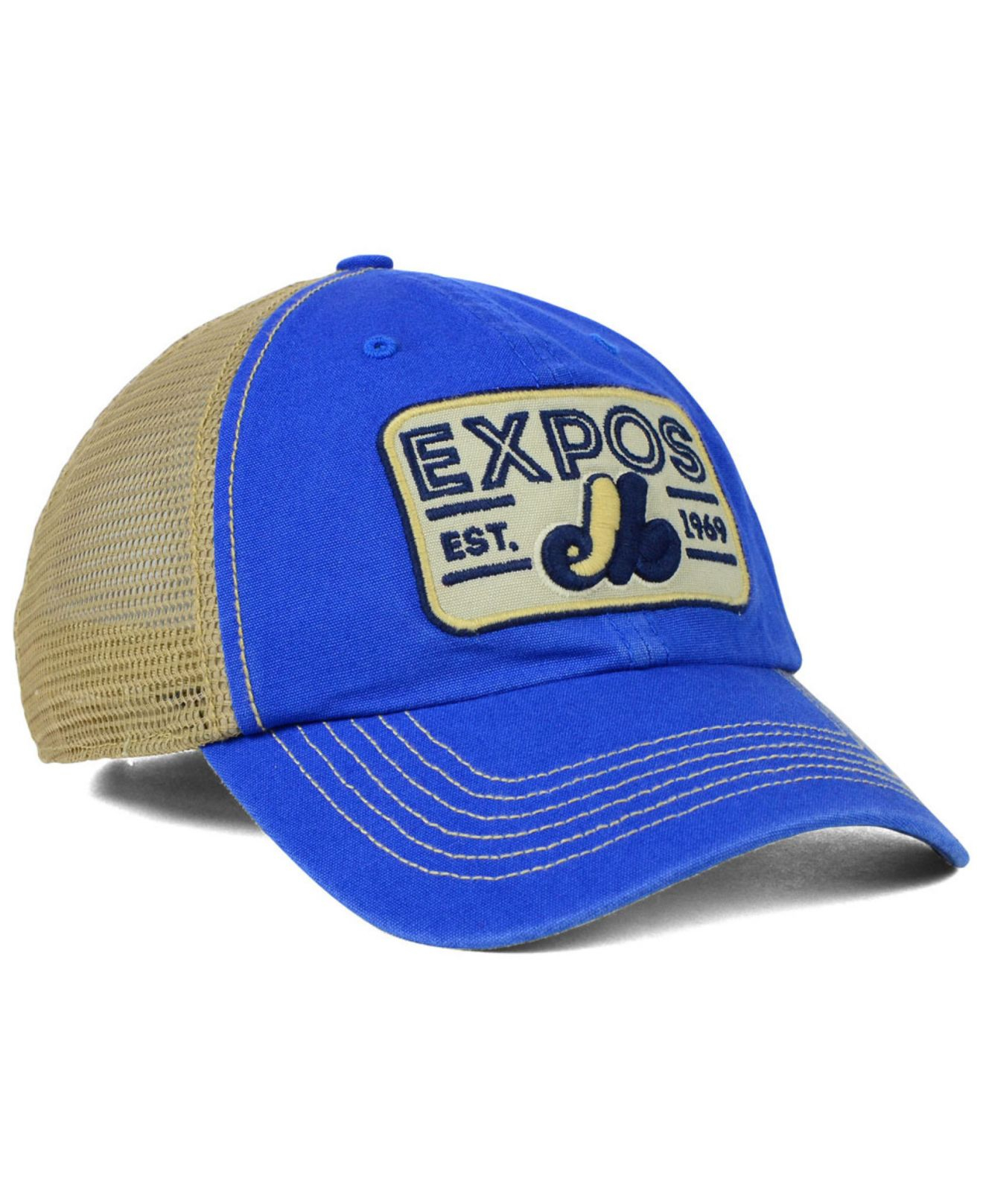 Lyst - 47 Brand Montreal Expos Goin Yard Mesh Cap in Blue for Men acb685396a7