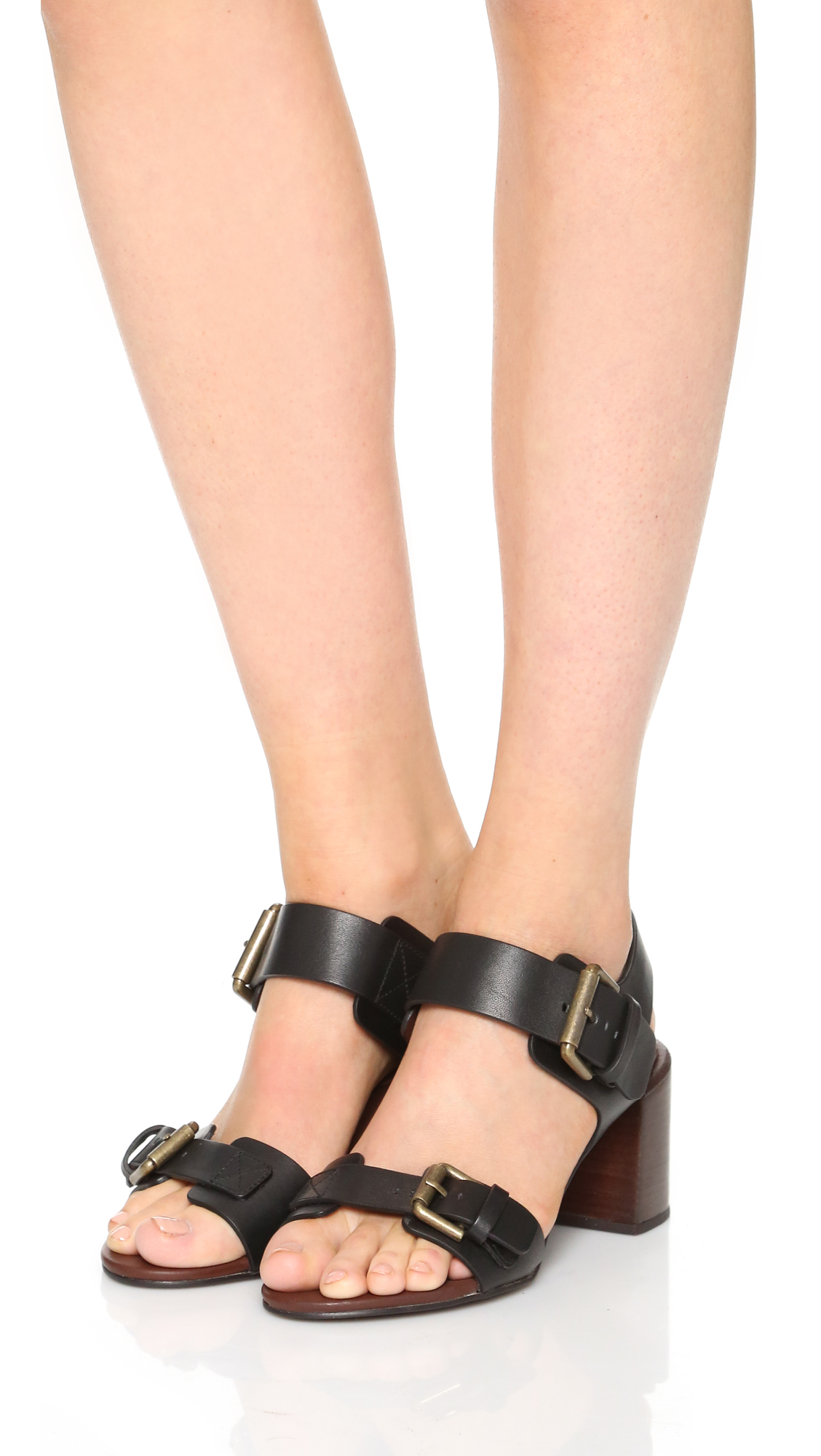 c9e60f4e79e5 Lyst - See By Chloé Romy City Sandals in Natural