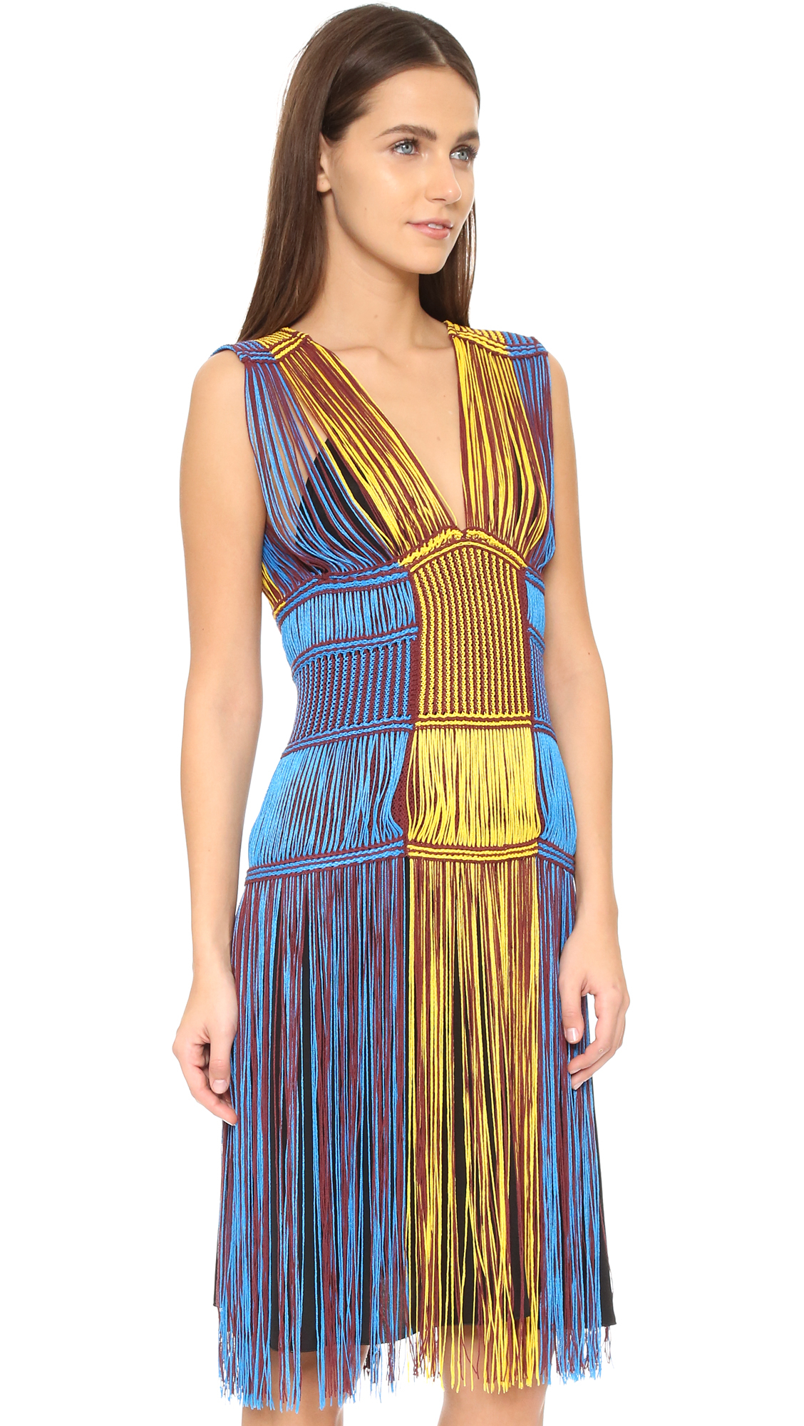 M missoni yellow dress.