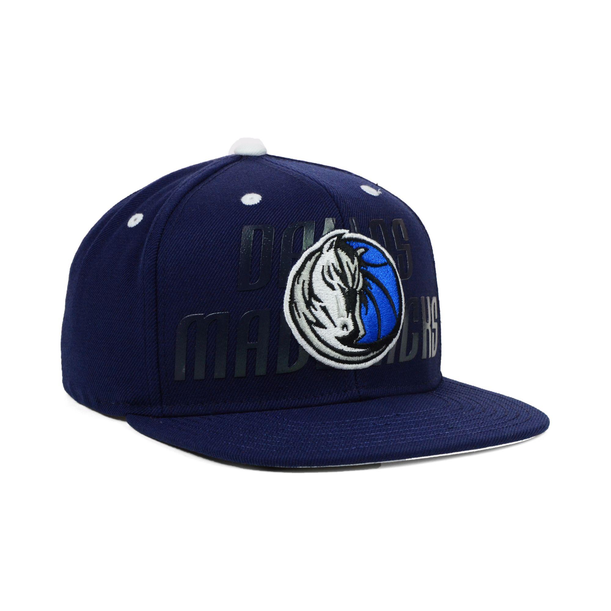 e5039ec25f8 Lyst - Adidas Dallas Mavericks Nba Draft Snapback Cap in Blue for Men