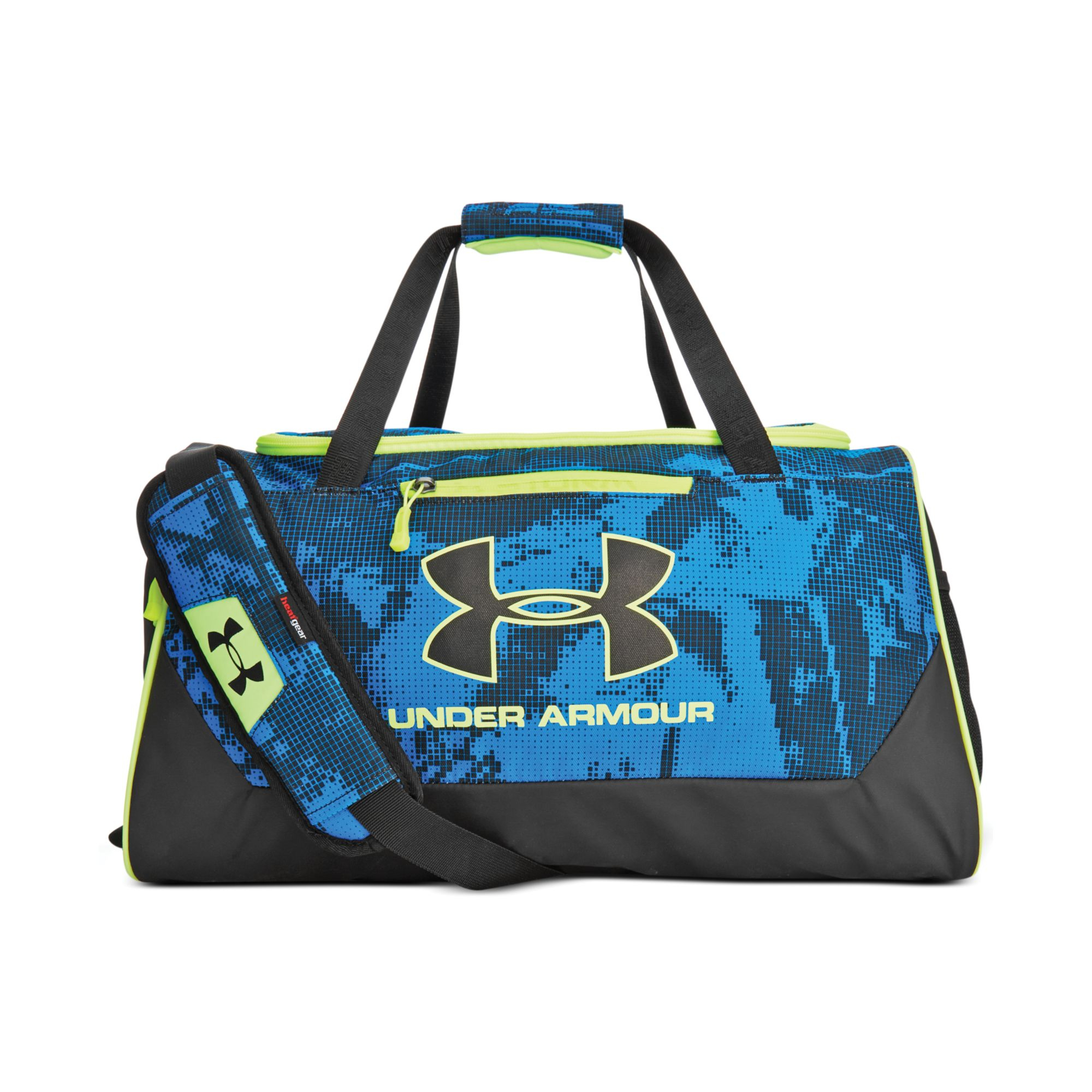 df2ef741ef0 Under Armour Hustle Small Duffle Bag in Blue for Men - Lyst
