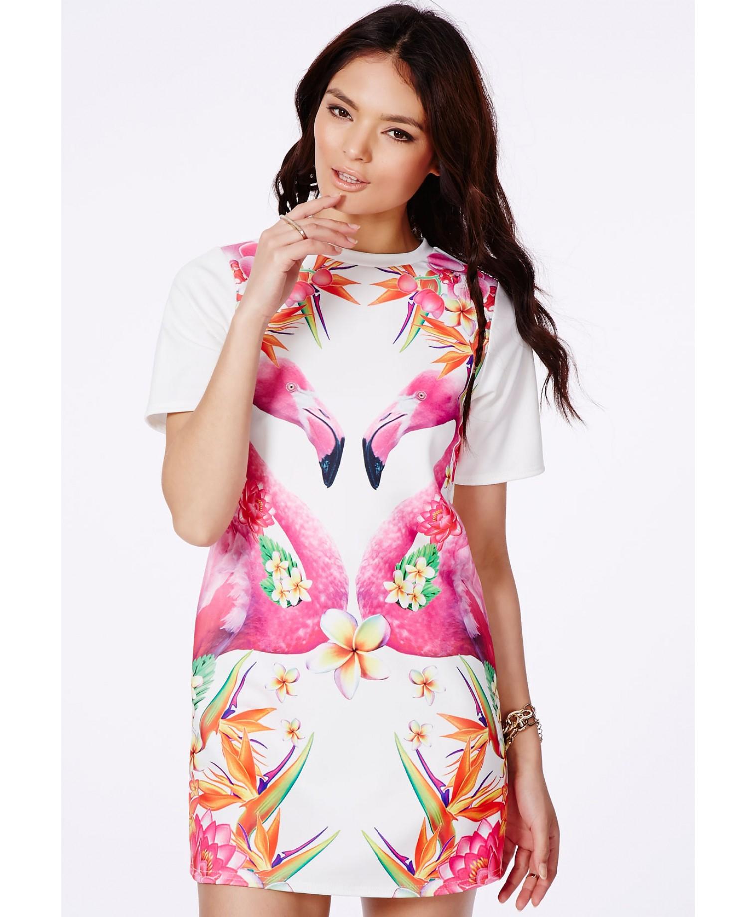 Flamingo clothing for women