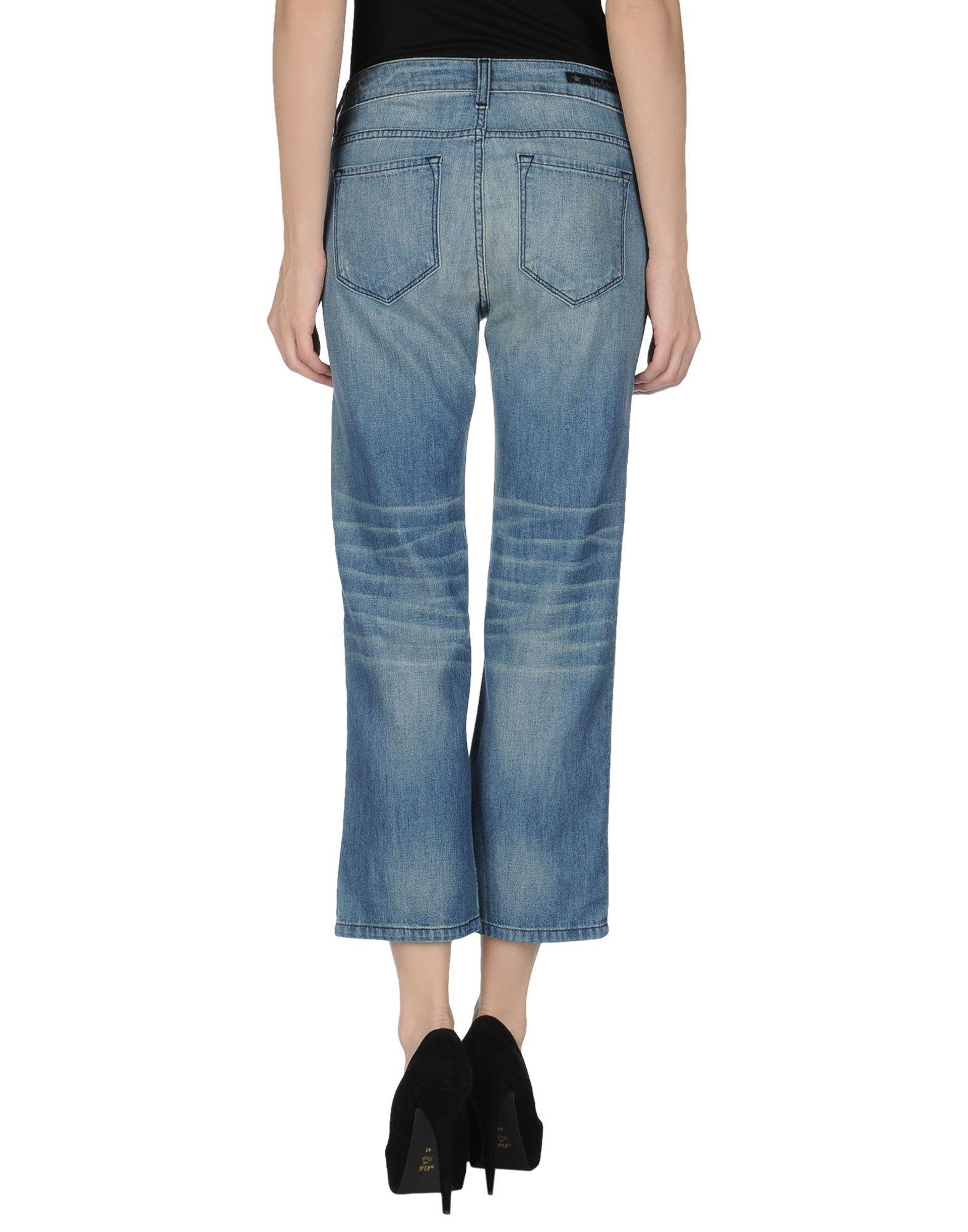 Lyst - Rockstar Denim Trousers in Blue
