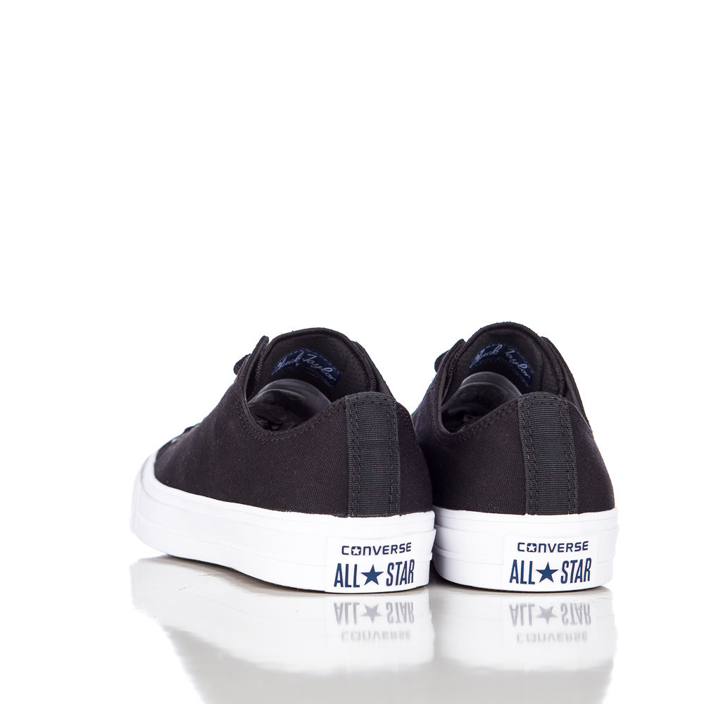 551a05d451f Lyst - Converse Chuck Taylor All Star Ii Ox Low In Black white navy in Blue  for Men