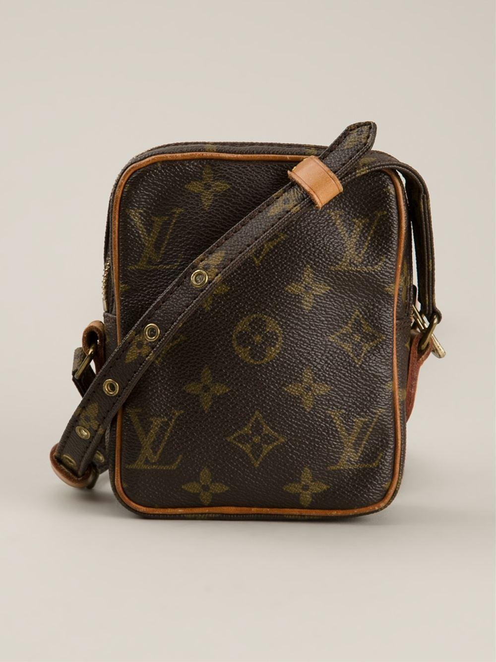 263bd8463267 Lyst - Louis Vuitton Mini  Danube  Shoulder Bag in Brown