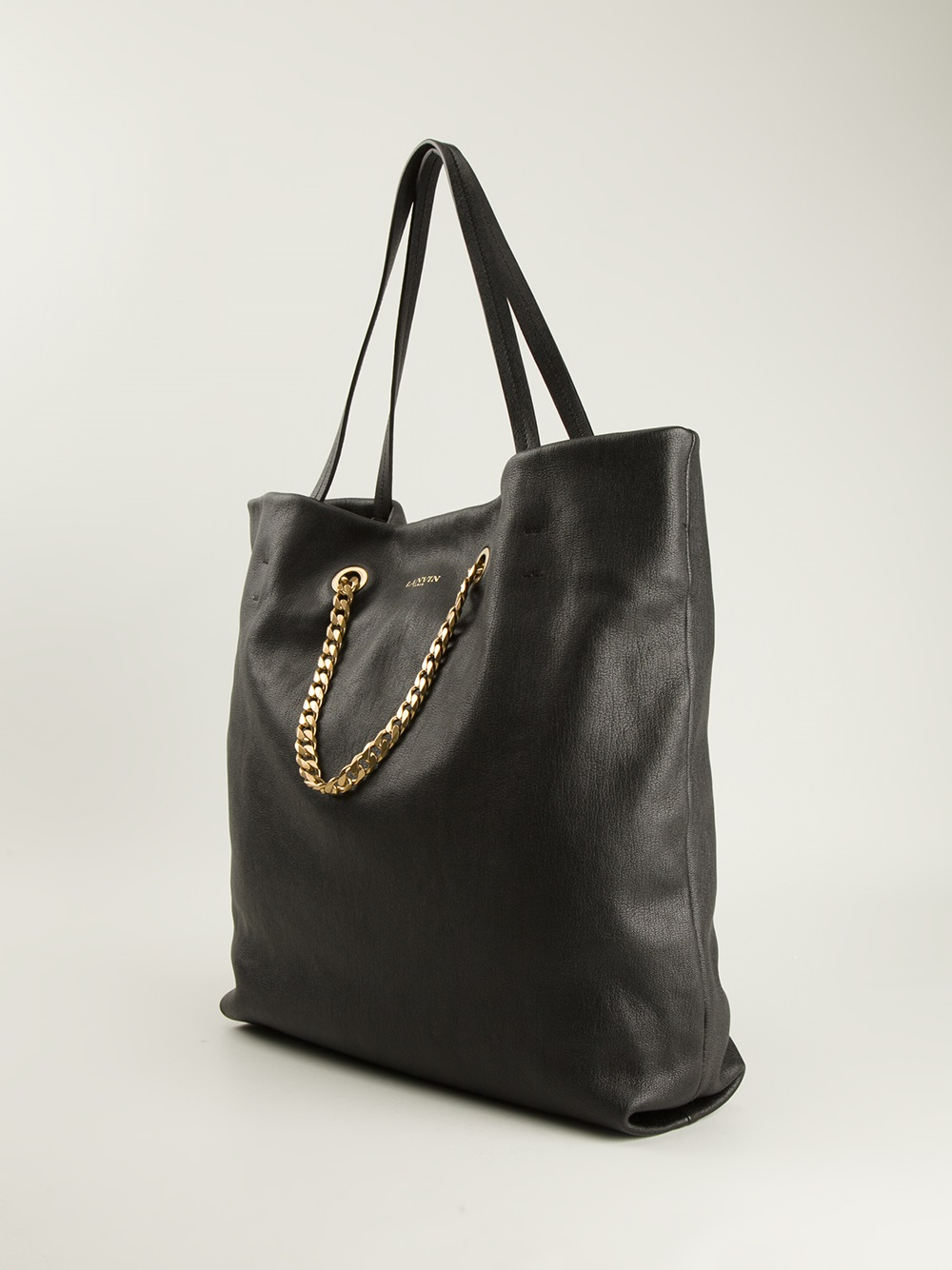 Black Lanvin Tote Me' Lyst 'carry In C1wRnXq