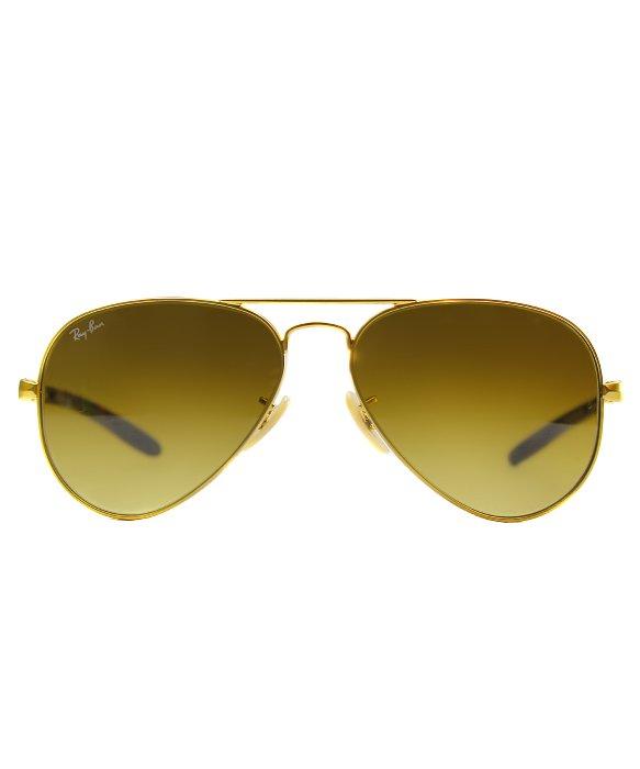 d8b69e4d6c Ray-Ban Ray Ban Rb8307 Aviator Carbon Fibre 112 85 Metal Sunglasses ...