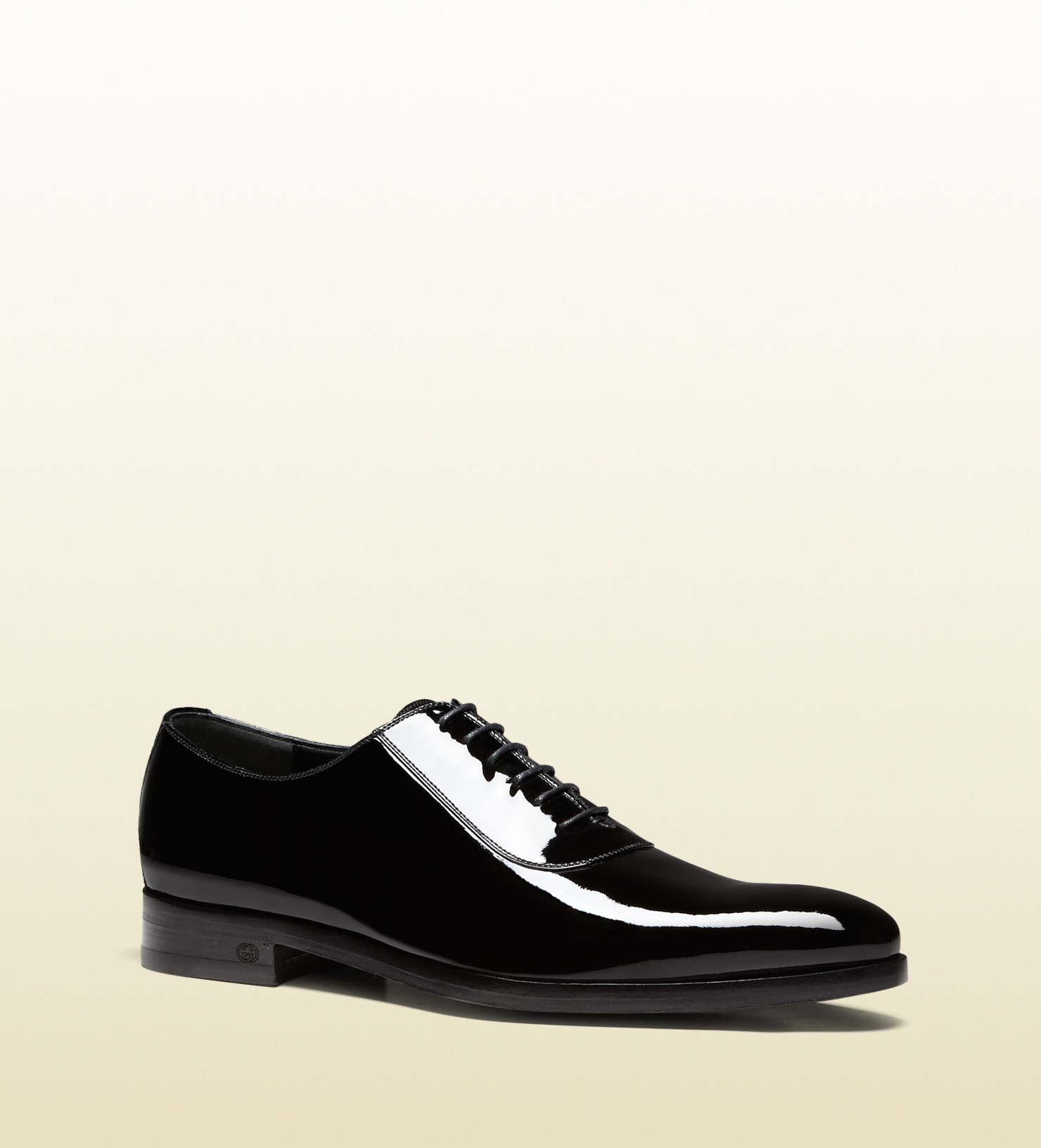 Gucci Mens Patent Leather Shoes