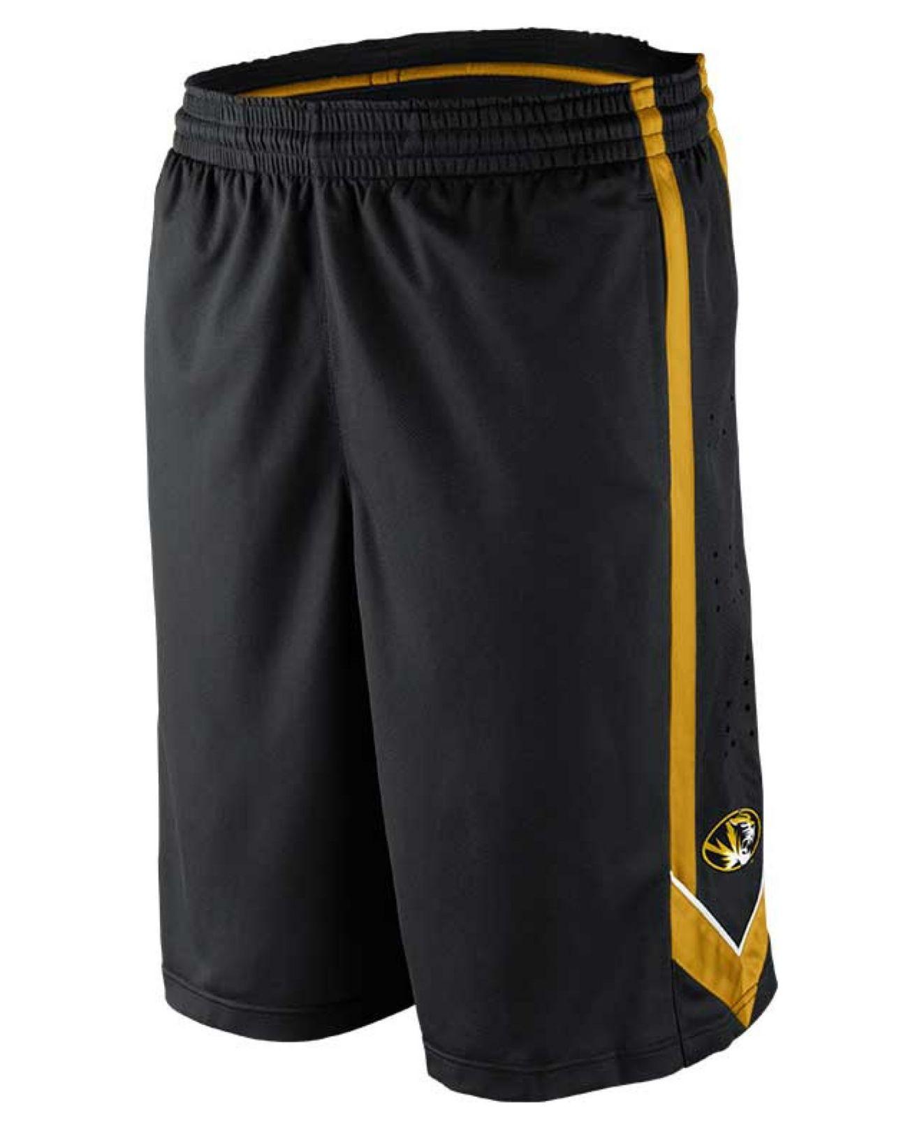 Lyst Nike Men S Missouri Tigers Dri Fit Tourney Shorts