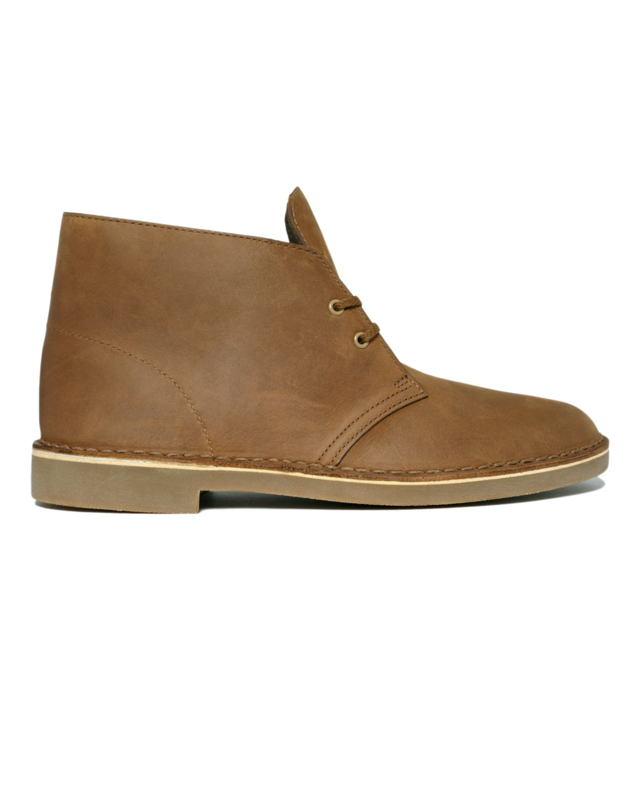 clarks s bushacre 2 chukka boots in brown for