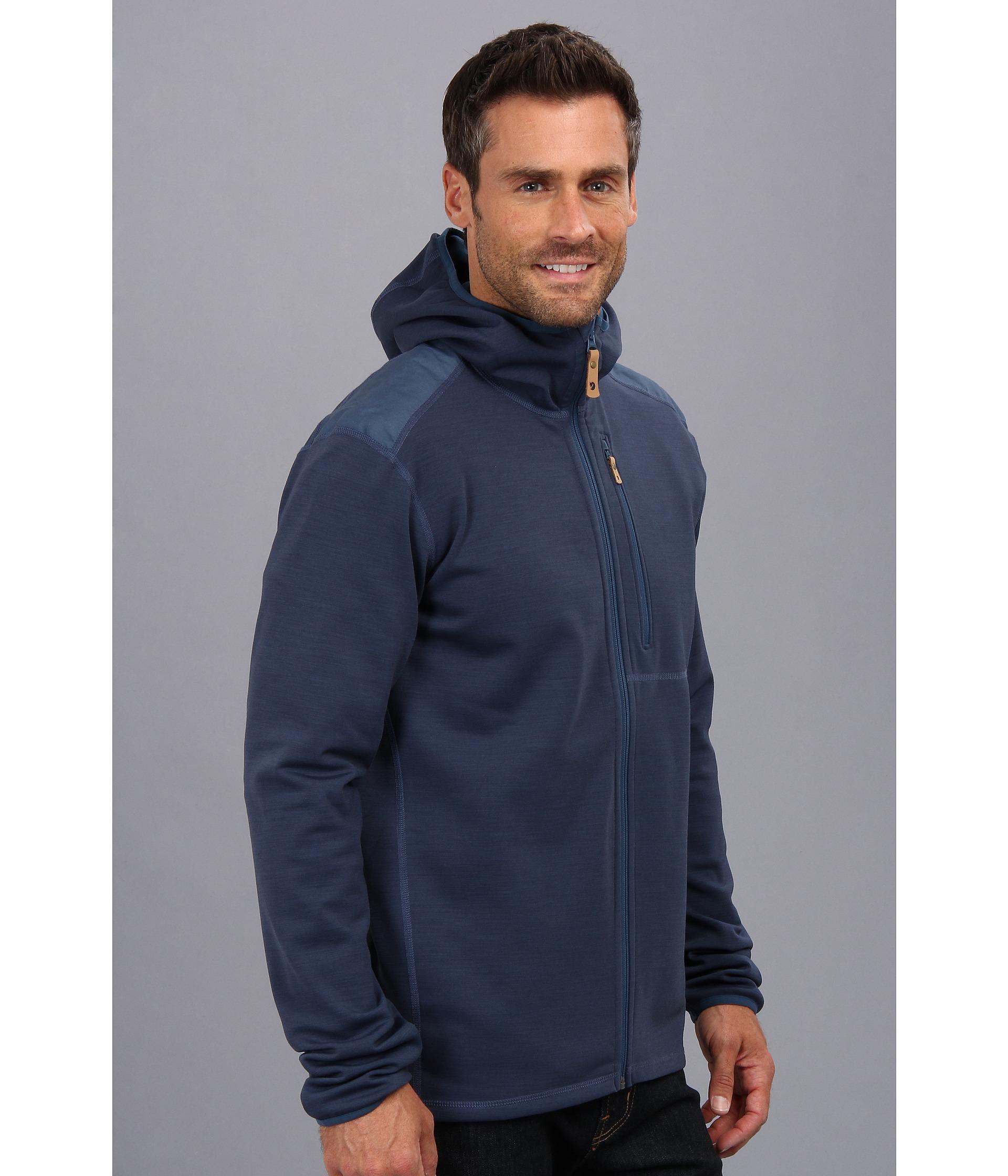 Fjallraven Keb Fleece Jacket in Blue for Men | Lyst