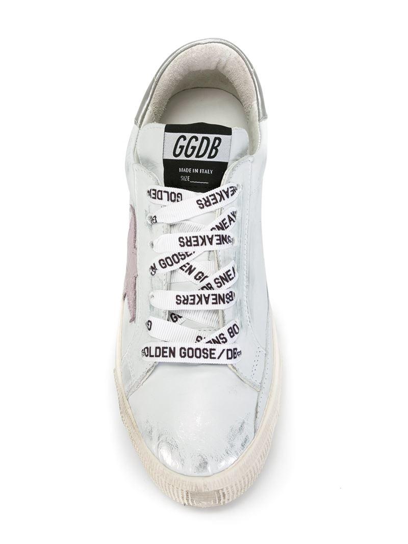 Vue Vente Pas Cher Sortie 2018 Golden Goose Deluxe BrandMay sneakers Meilleur Magasin Pour Obtenir Le Prix Pas Cher Pas Cher À Vendre o3IIZLFyC2