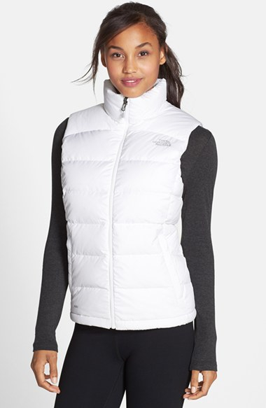Lyst - The North Face Nuptse 2 Down Vest in White bb80d165323a