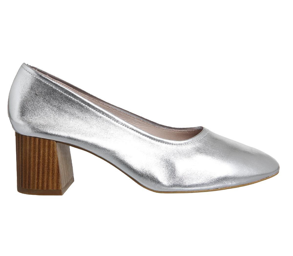 Office Silver Heels