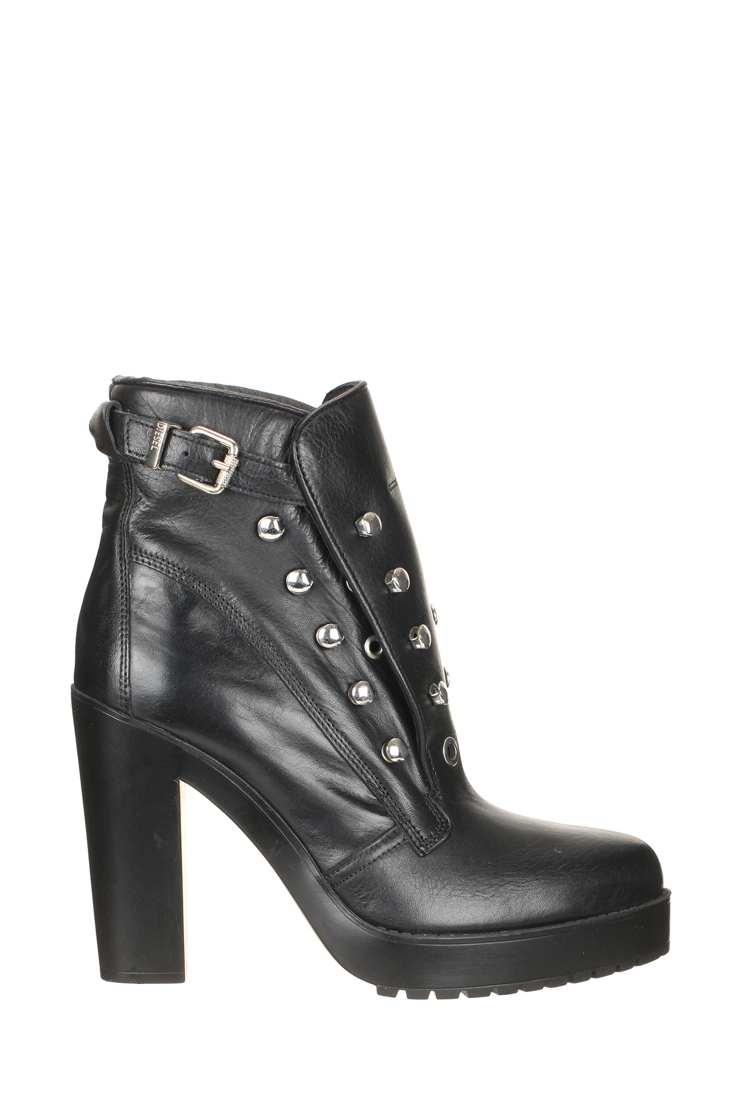 diesel boots in black lyst