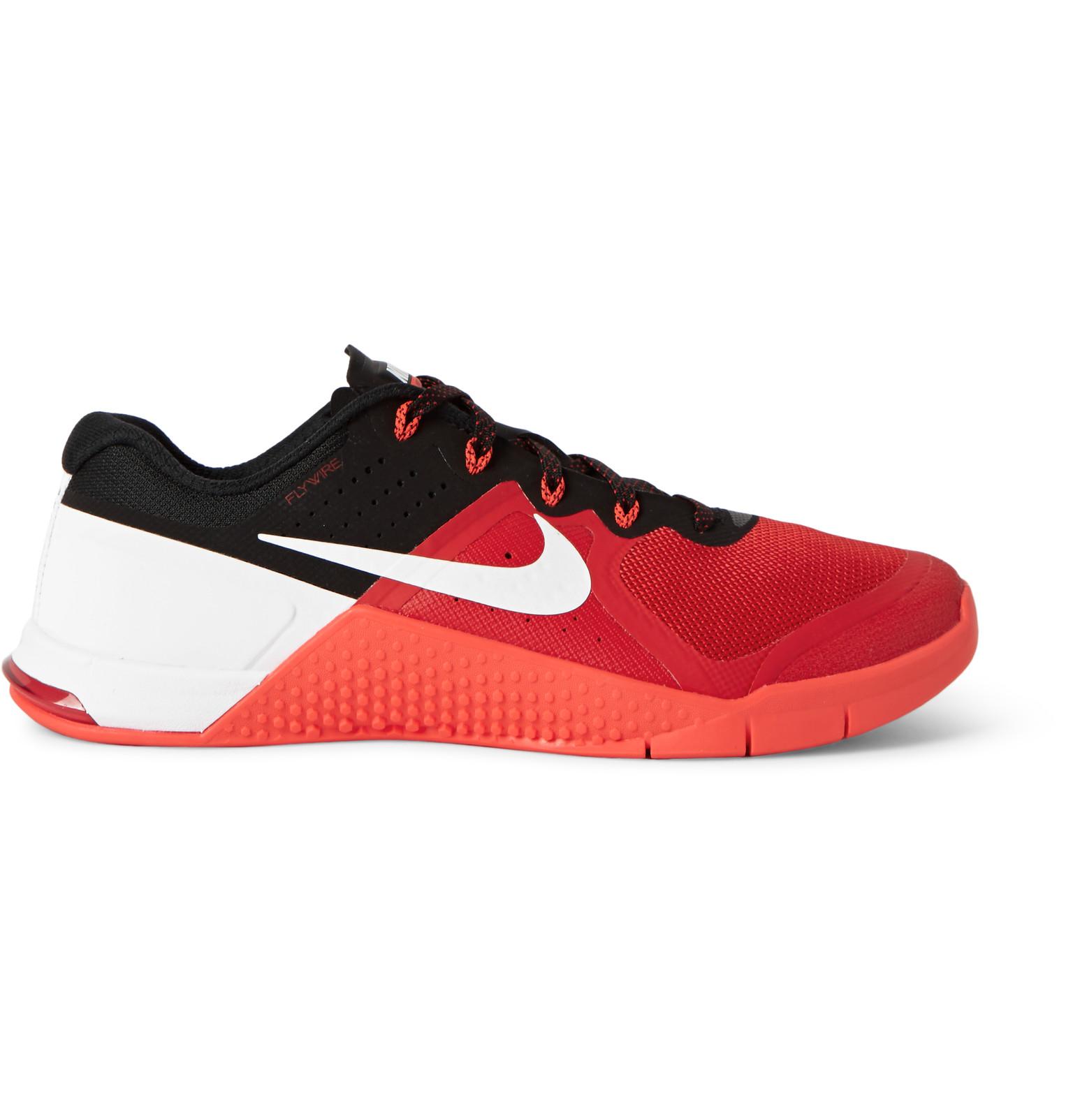 nike metcon 2 maglie e di scarpe da ginnastica in rosso per gli uomini lyst