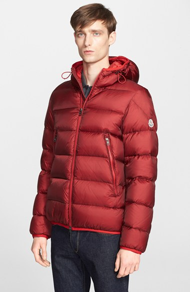 red moncler coat mens