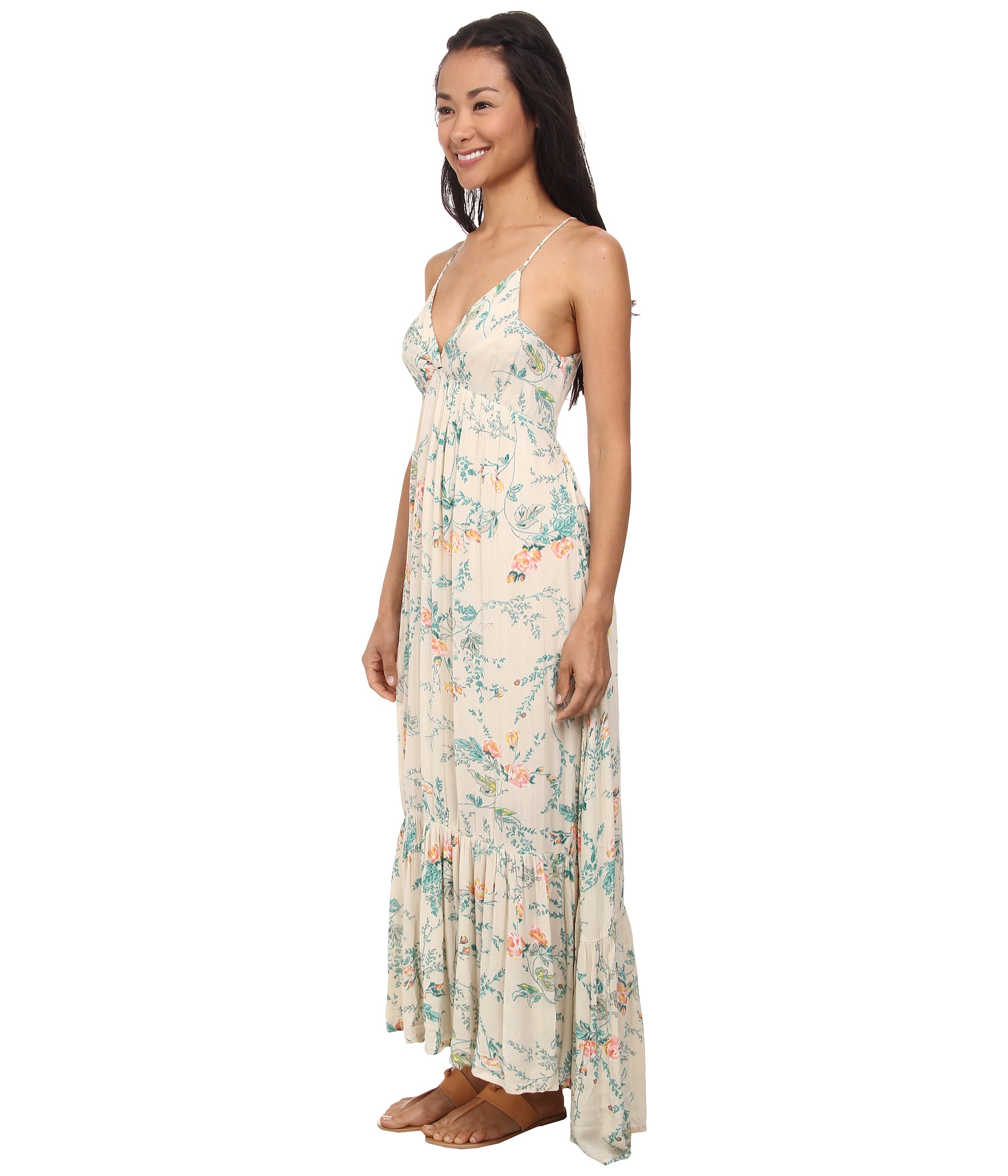 Billabong Dream Escape Maxi Dress in White  Lyst