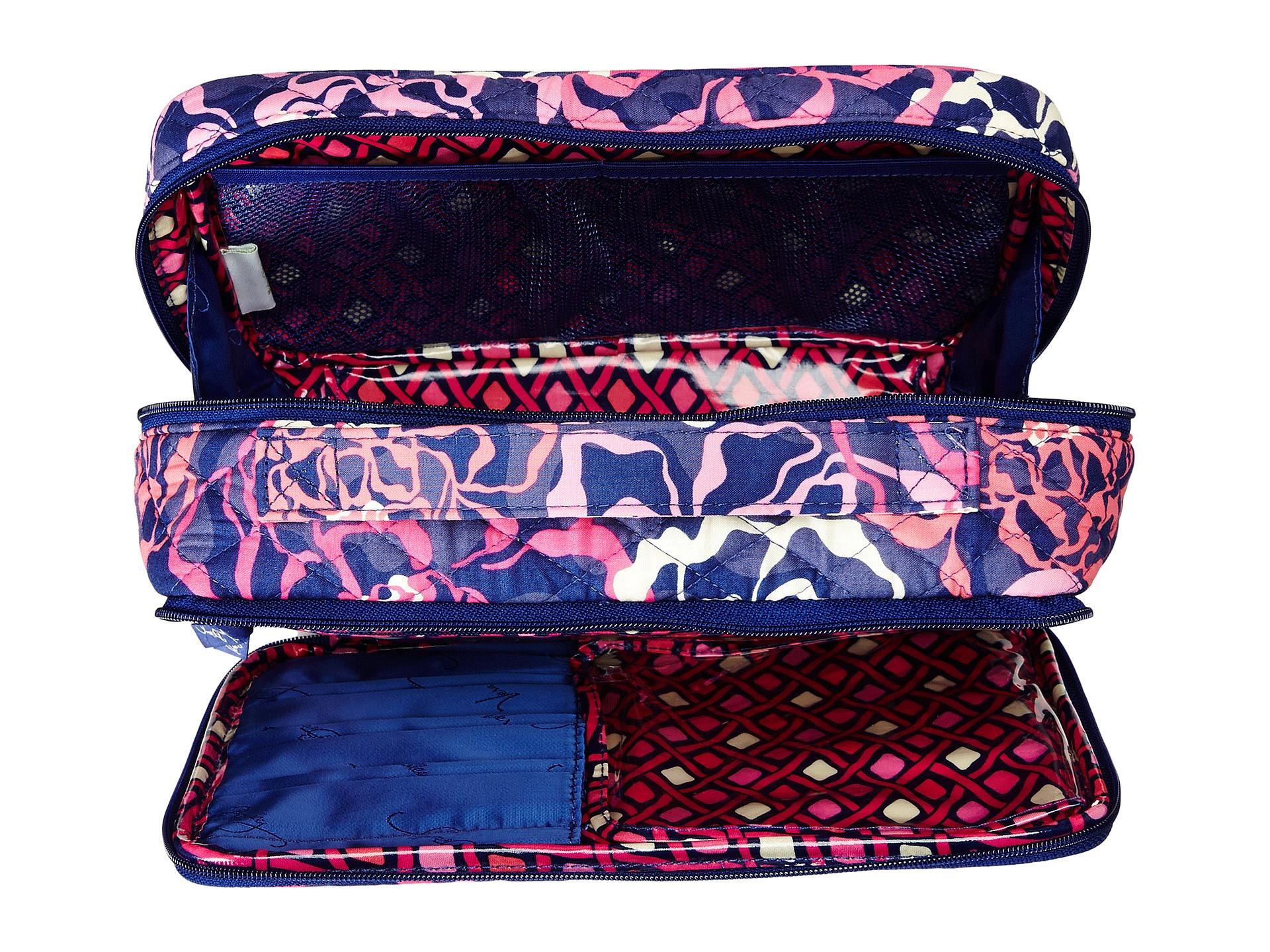 3ae6cc4068dc Lyst - Vera Bradley Large Blush   Brush Makeup Case in Pink