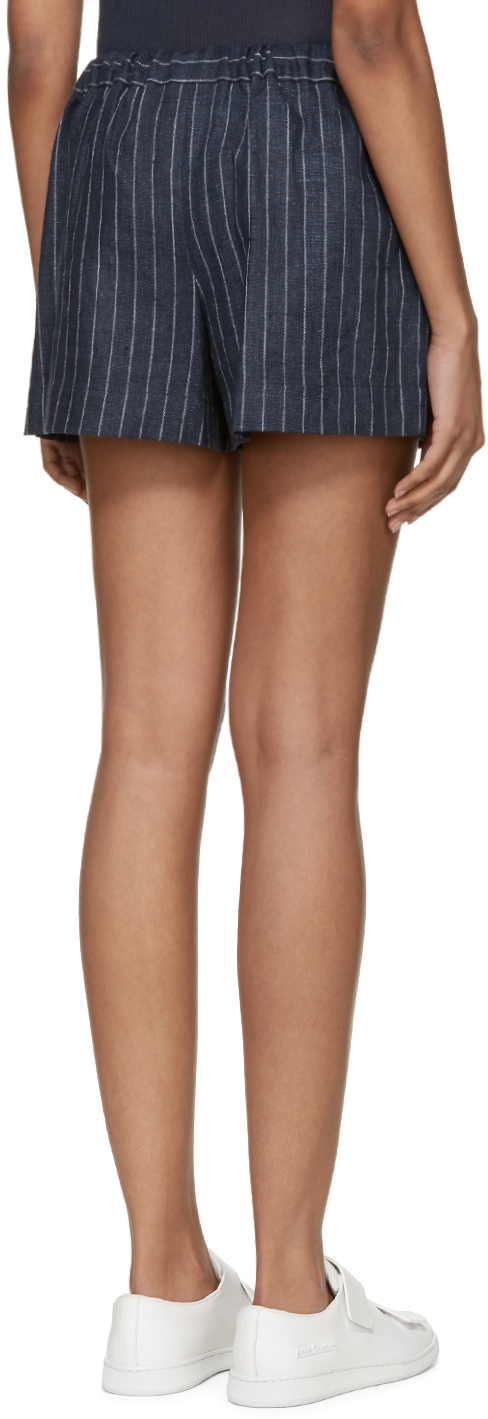 Pinstriped shorts - Blue 3.1 Phillip Lim x71Mn