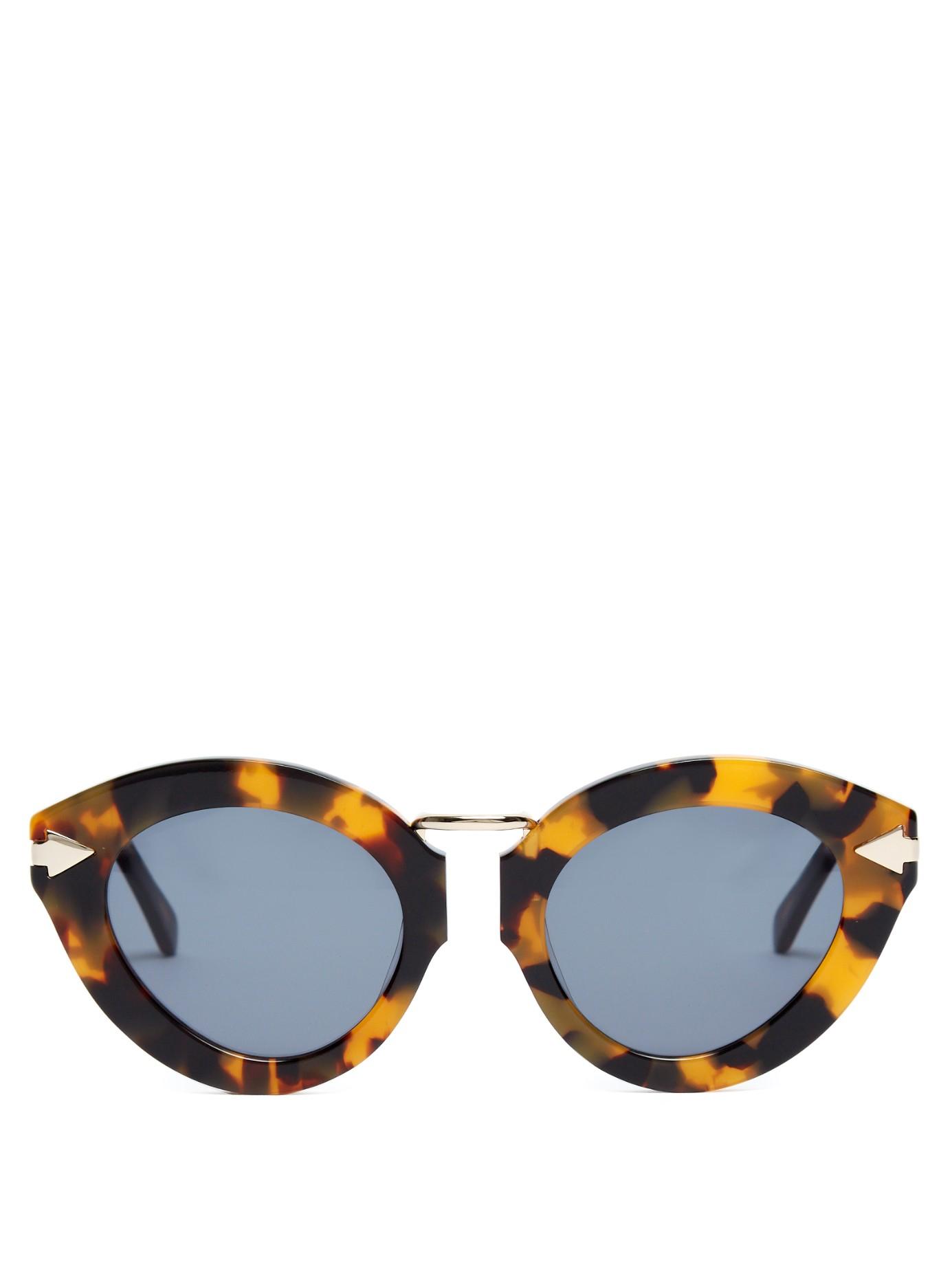 c24f5c31e40 Gallery. Previously sold at  MATCHESFASHION.COM · Women s Tortoiseshell  Sunglasses ...