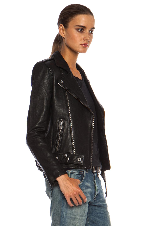 Acne Studios Leather Jacket