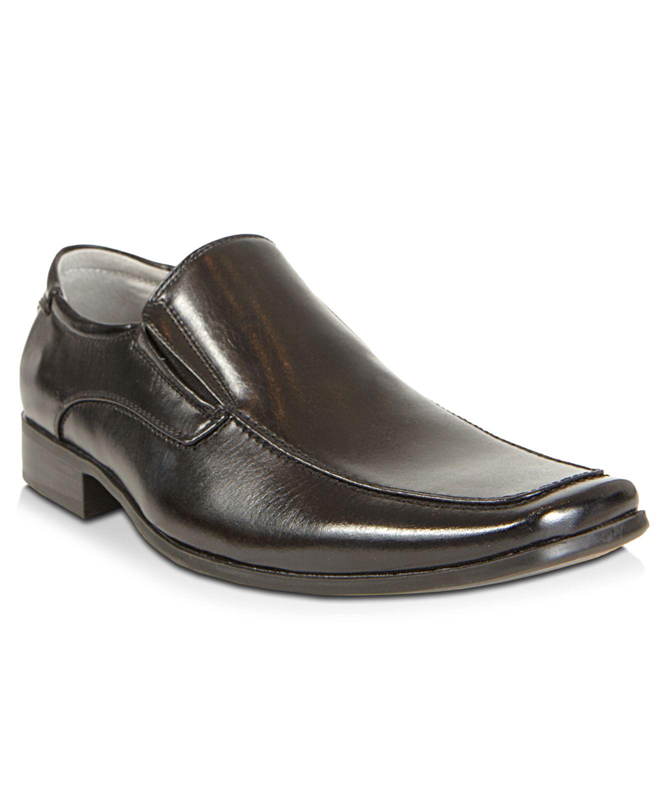Steve Madden Madden Expo Slip On Dress Loafers In Black