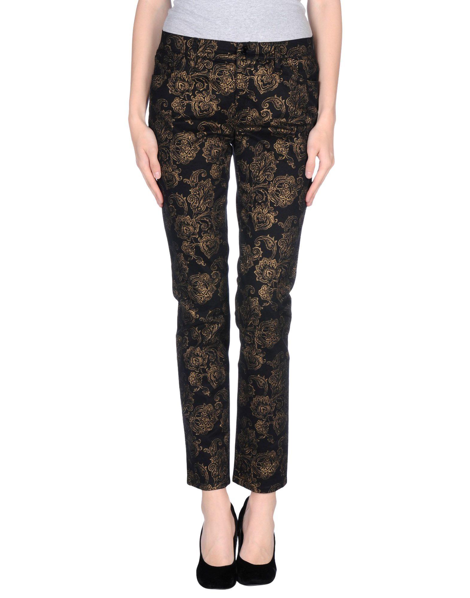 Beautiful Lauren By Ralph Lauren Casual Pants In Black  Lyst