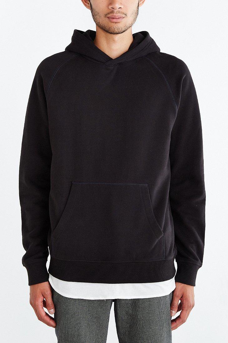 Bdg Pullover Hoodie Sweatshirt in Black for Men | Lyst