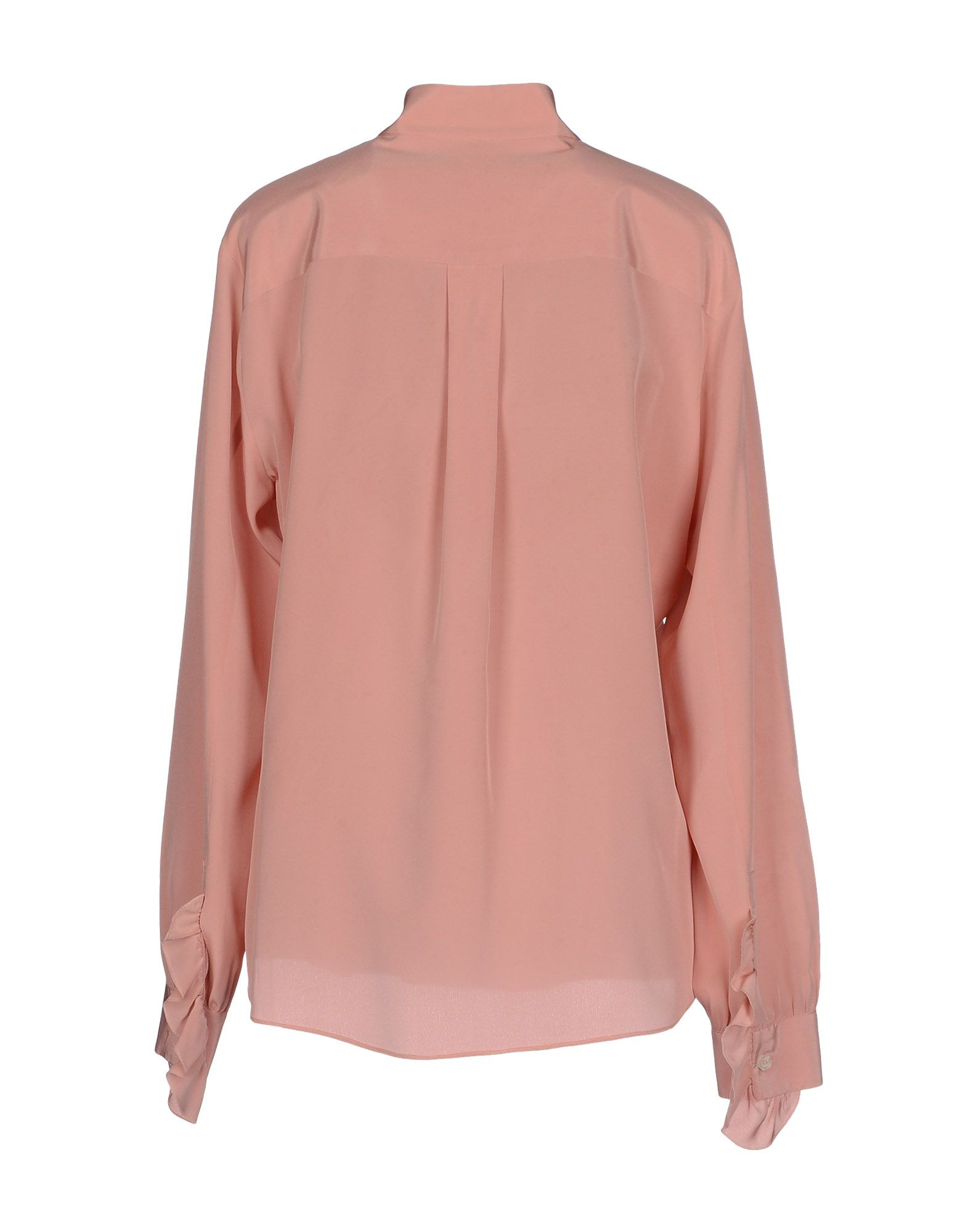 Boutique Moschino Shirt In Pink For Men Pastel Pink Lyst