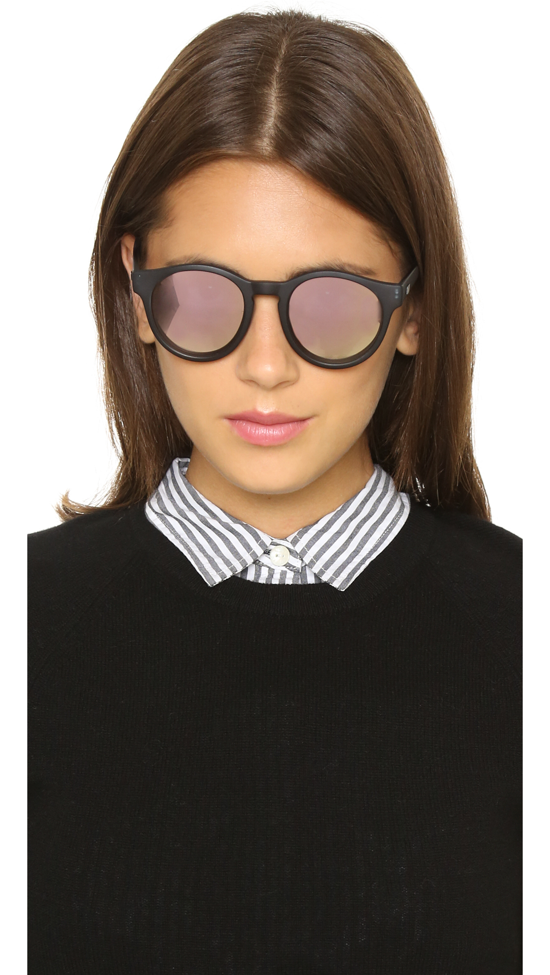 111153ad0d Lyst - Le Specs Limited Edition Hey Macarena Sunglasses - Matte ...