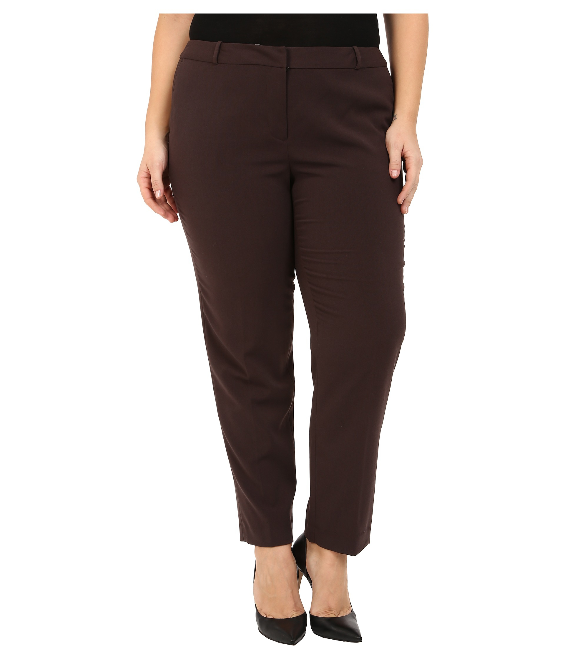 Chocolate Brown Capri Pants Pant So