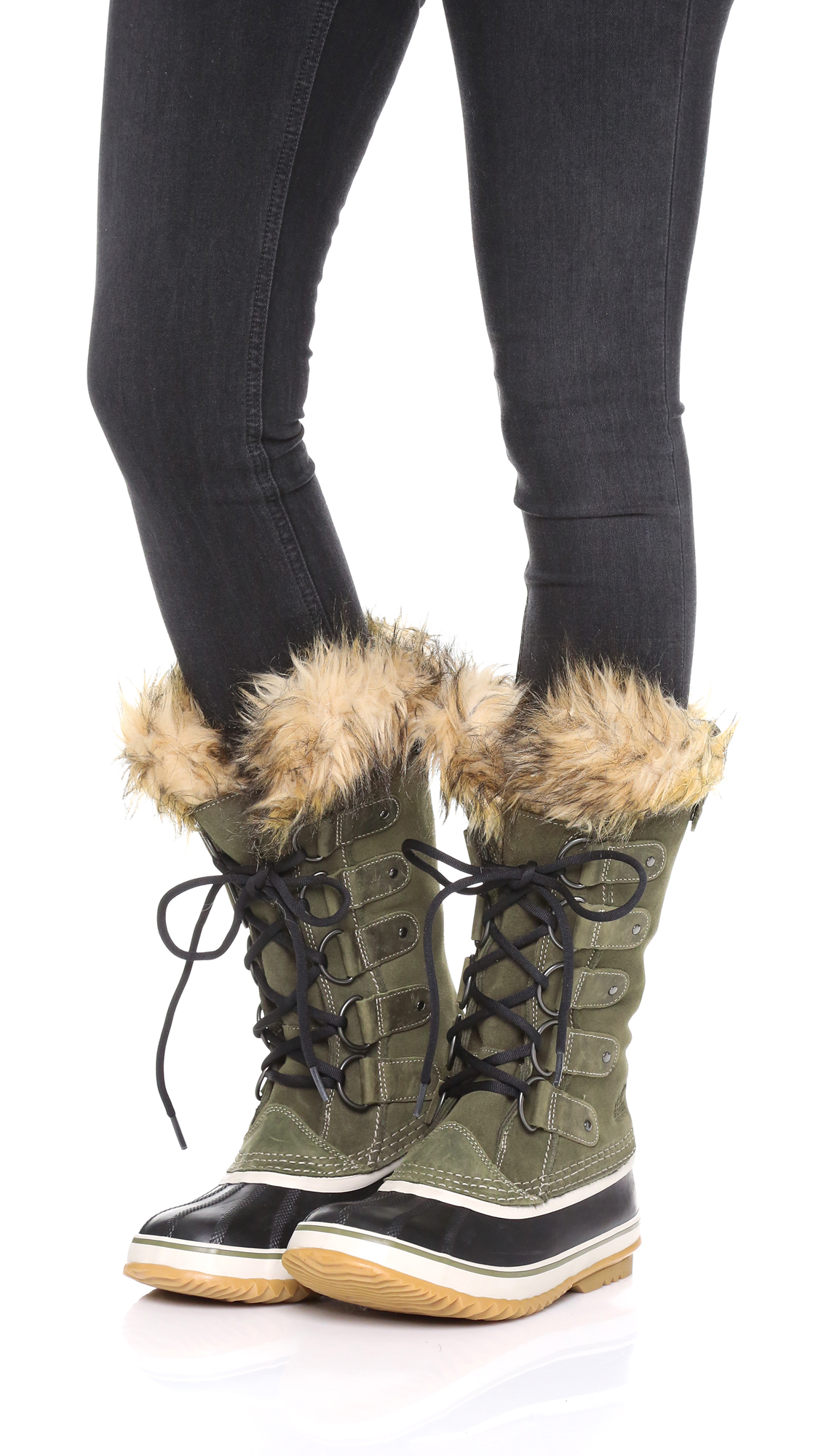 Sorel Joan Of Arctic Boots In Brown Lyst