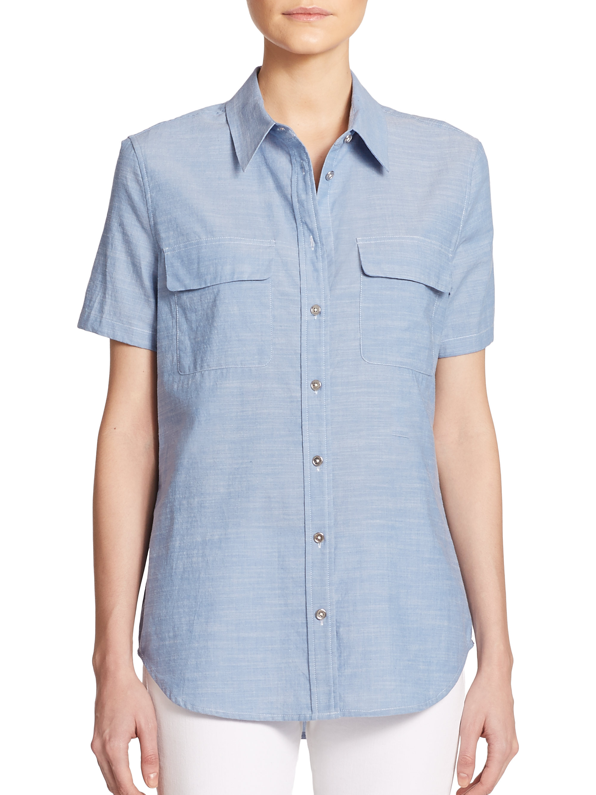 Chambray Flutter-Sleeve Tie-Belt Shirt Dress for Women. $ 39% off. $ 35% Off Taken at Checkout. Chambray Shirt Dress for Women. $ 42% off. $ Getting back to stylish basics is effortless with versatile chambray shirts for women that are dominating the season's style scene. Old Navy offers an affordable variety of.