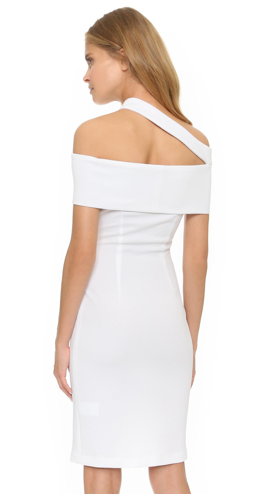 Nicholas dress white.