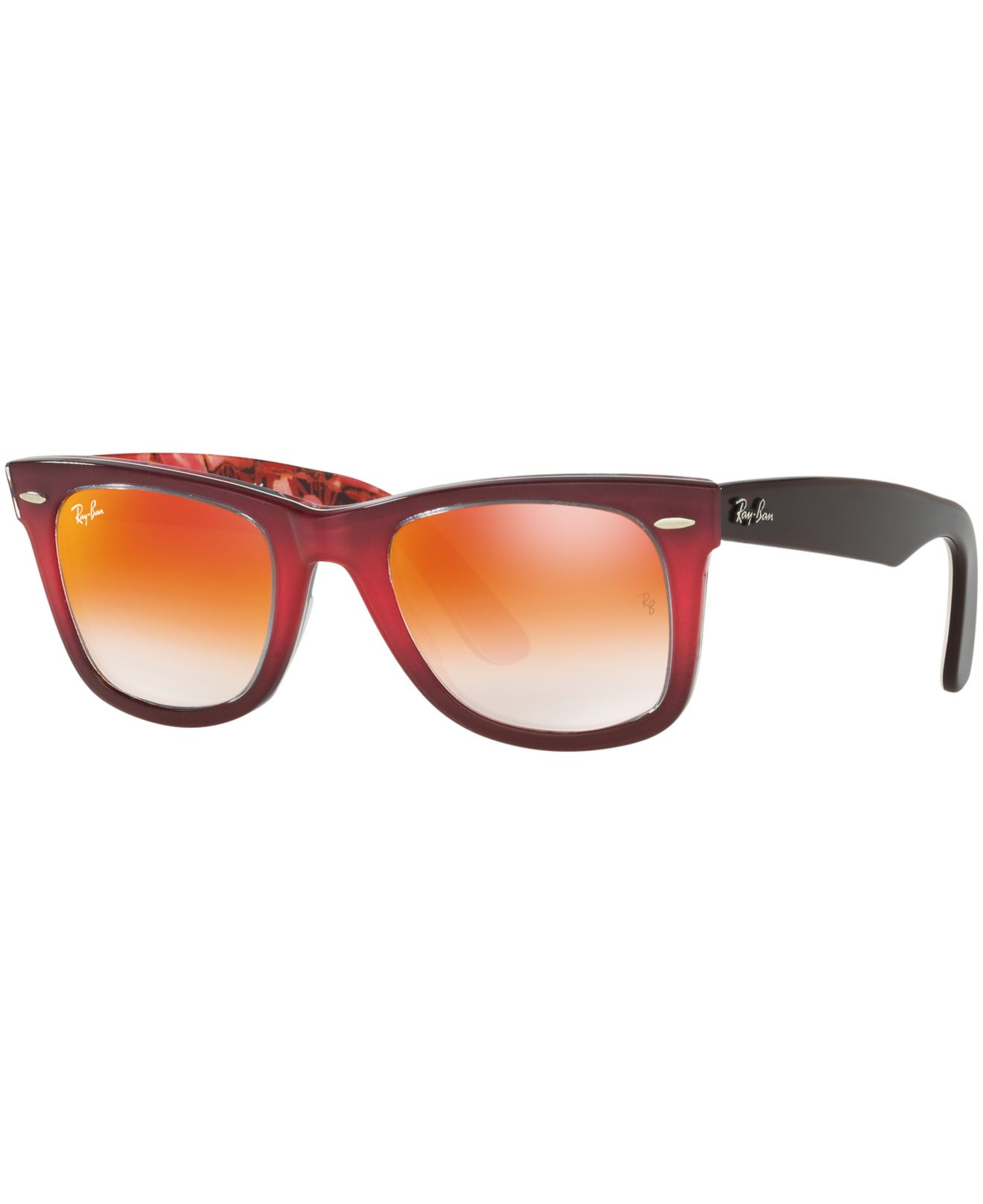 e6e61cc282 Lyst - Ray-Ban Rb2140 Original Wayfarer in Red