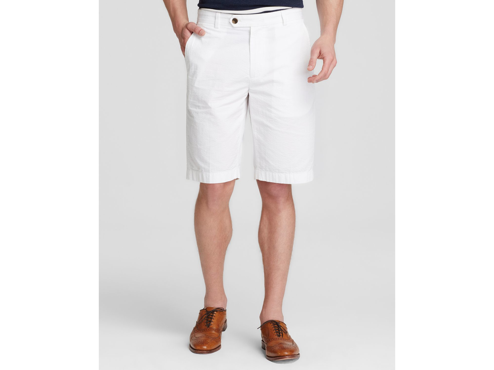 Brooks brothers Bermuda Shorts in Blue for Men | Lyst