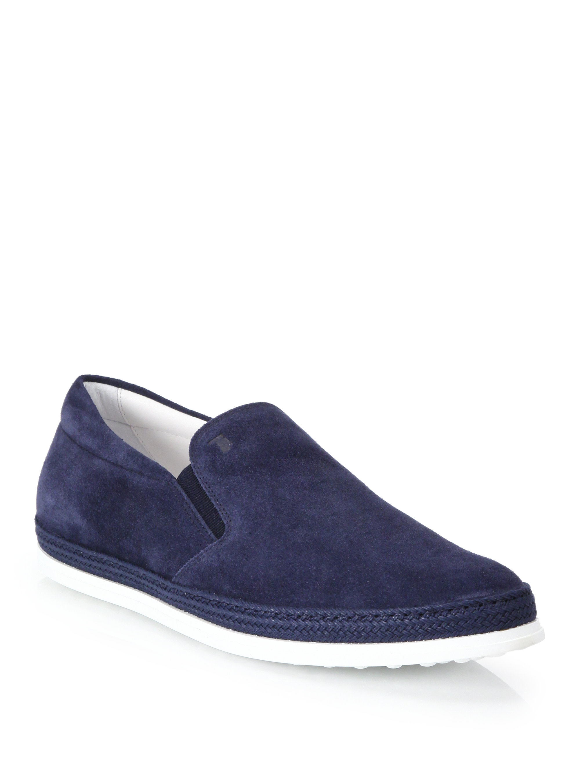 Slip-On Shoes in Suede Tod's vGmdN