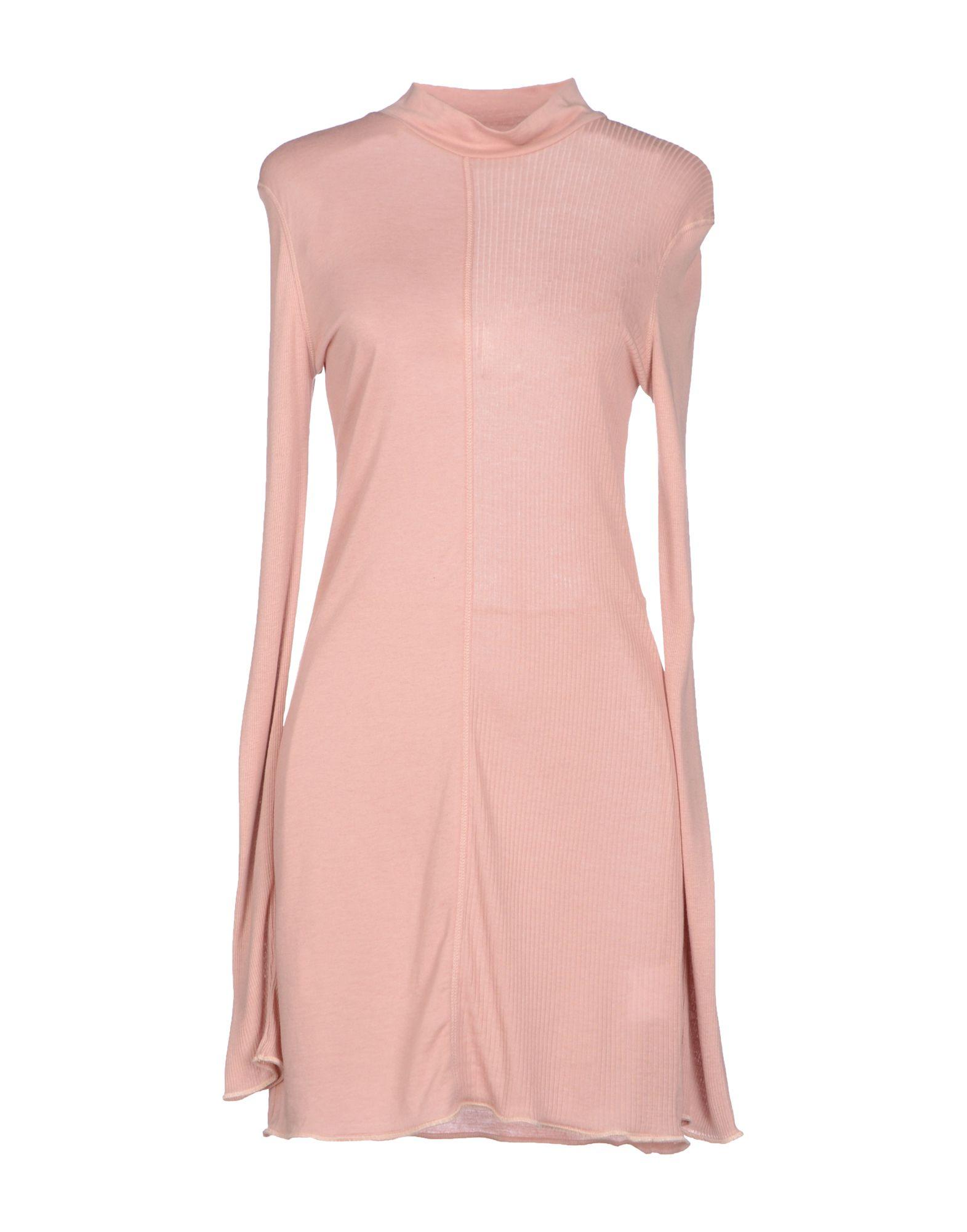 Acne Studios Roll Neck Sweater Dress In Pink Lyst