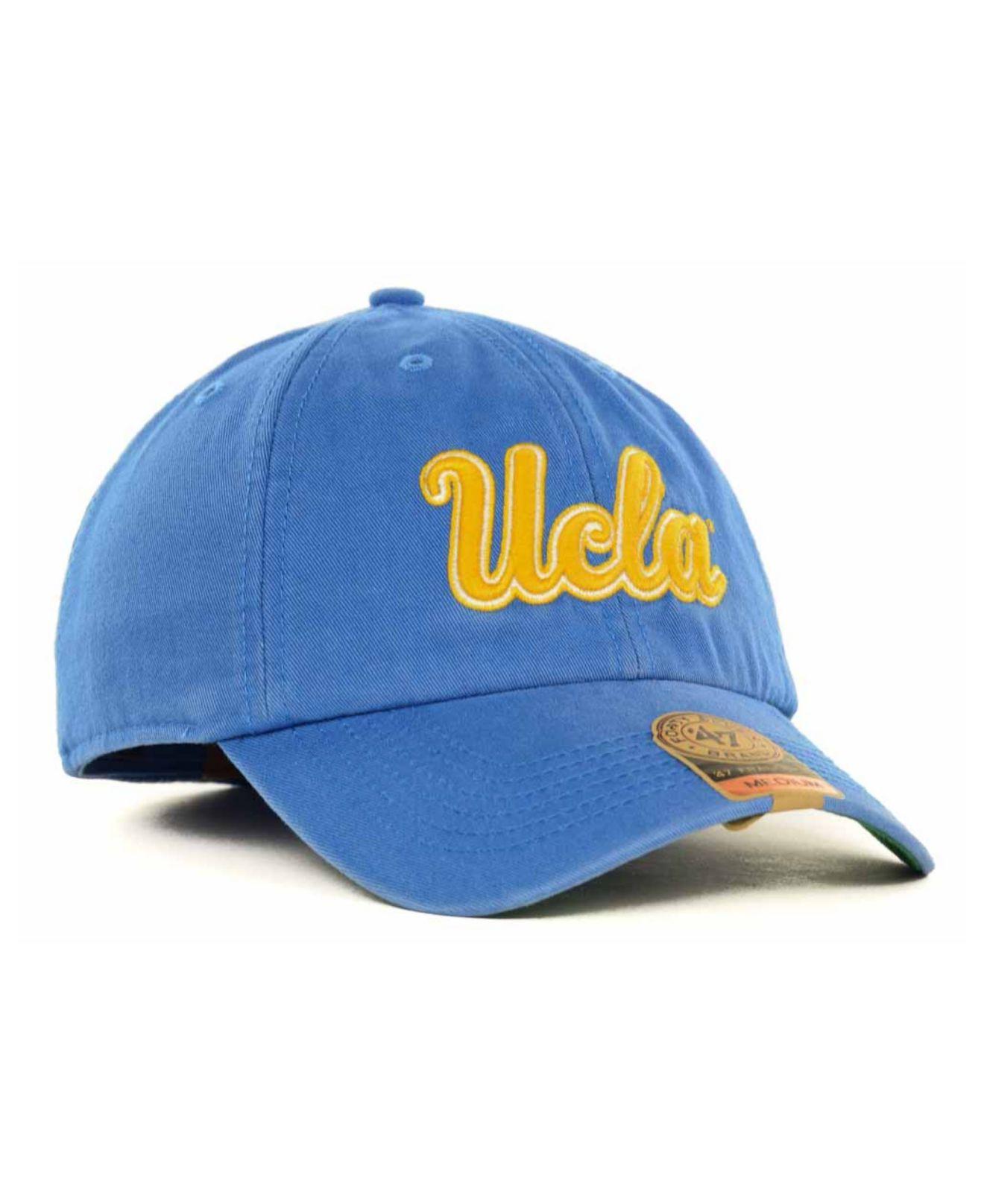 11b677ee4d3dc ... australia lyst 47 brand ucla bruins franchise cap in blue for men 14a4b  94bd2