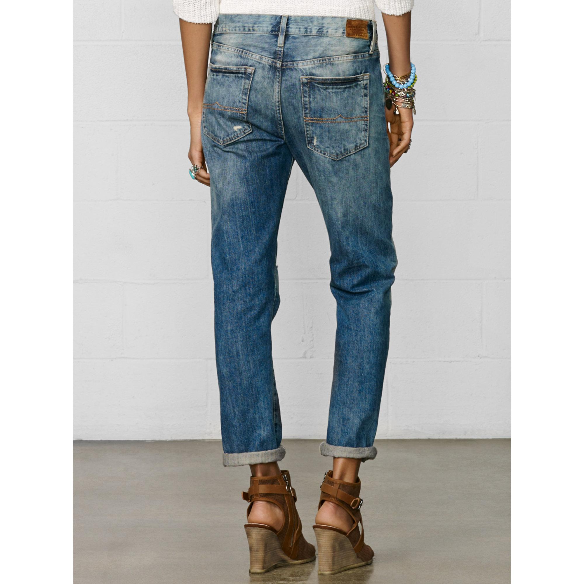 d895740c1 Denim   Supply Ralph Lauren Oceanside Boyfriend Jean in Blue - Lyst
