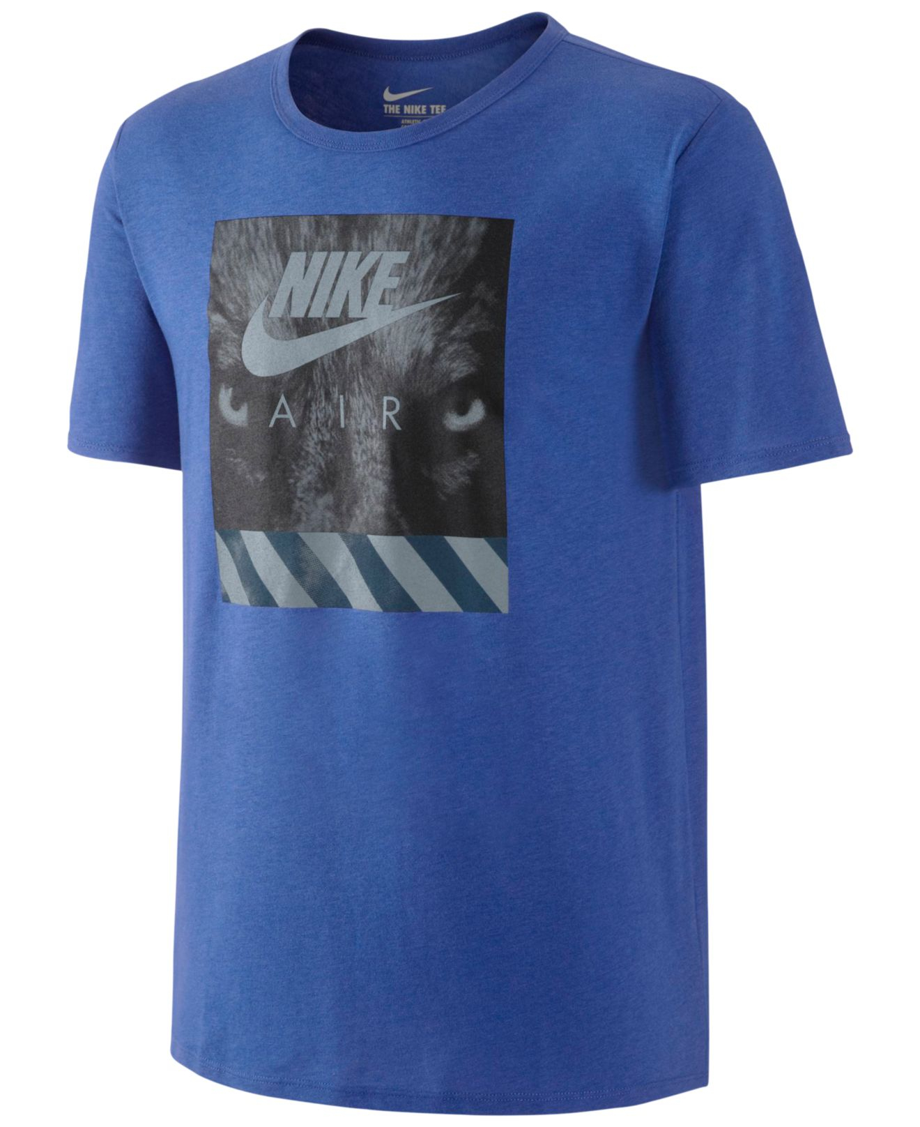 Lyst Nike Men 39 S Air Graphic T Shirt In Blue For Men