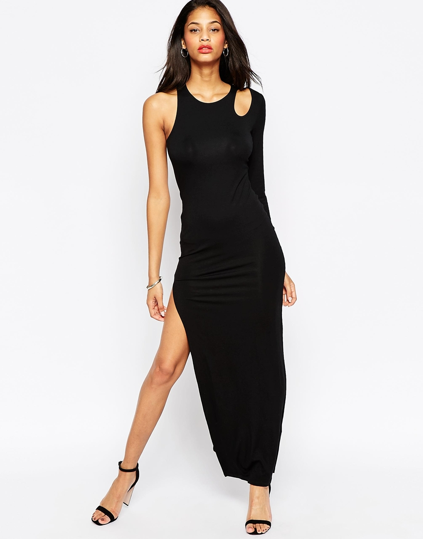 Shop an array of colors and looks! Lulus has a cute selection of one-shoulder cocktail & party dresses, and gowns. These one-sleeve dresses are #trending!