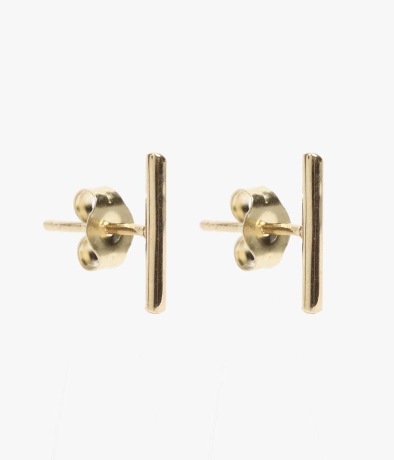 Loren Stewart Small Rod Earrings In Gold (14k Gold)  Lyst. Glamorous Wedding Rings. Onyx Bead Bracelet. Mens Black Bracelet. Rhodium Platinum. Multi Gemstone Bracelet. Animated Wedding Rings. Bottega Veneta Bracelet. Womens Diamond Ring Bands