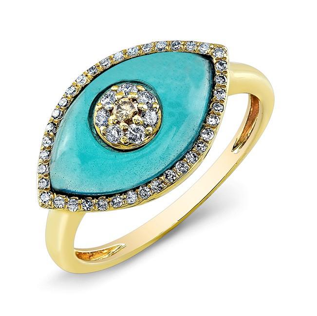 Monica Vinader Evil Eye Ring