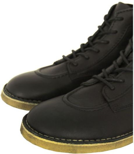 Kickers Mens The Legend Boots in Black for Men | Lyst