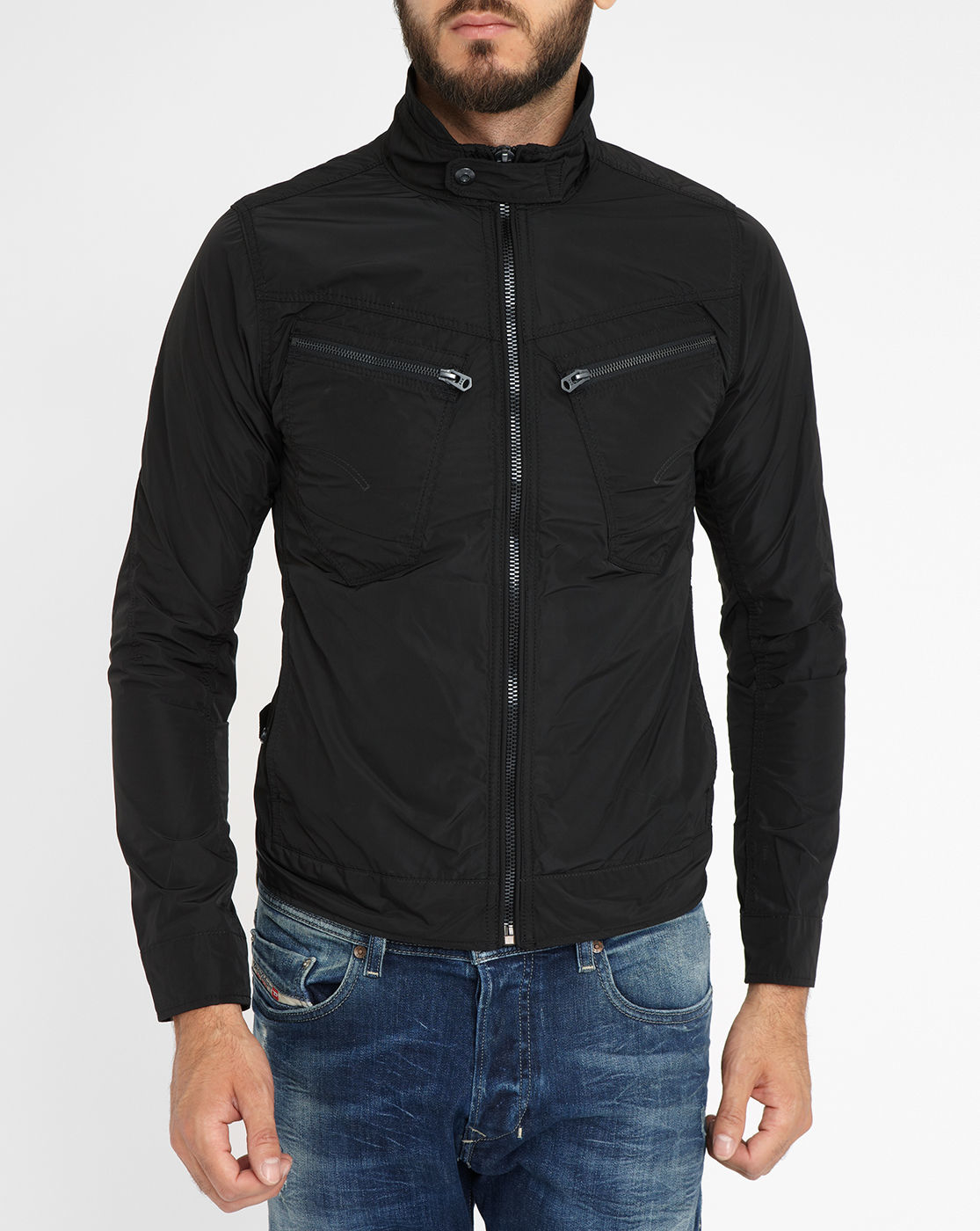 G-star raw Black Arc Zip 3d Slim-fit Jacket in Black for ...